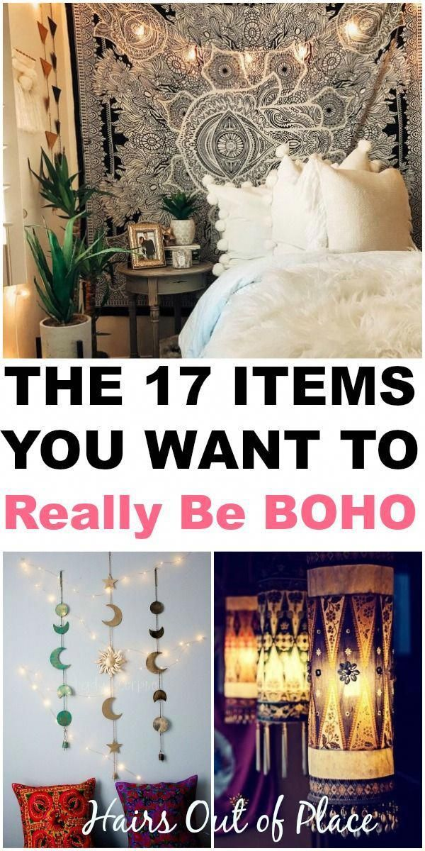 Boho Decorating Ideas For Your First Cozy Home ~17 Decor Tips images