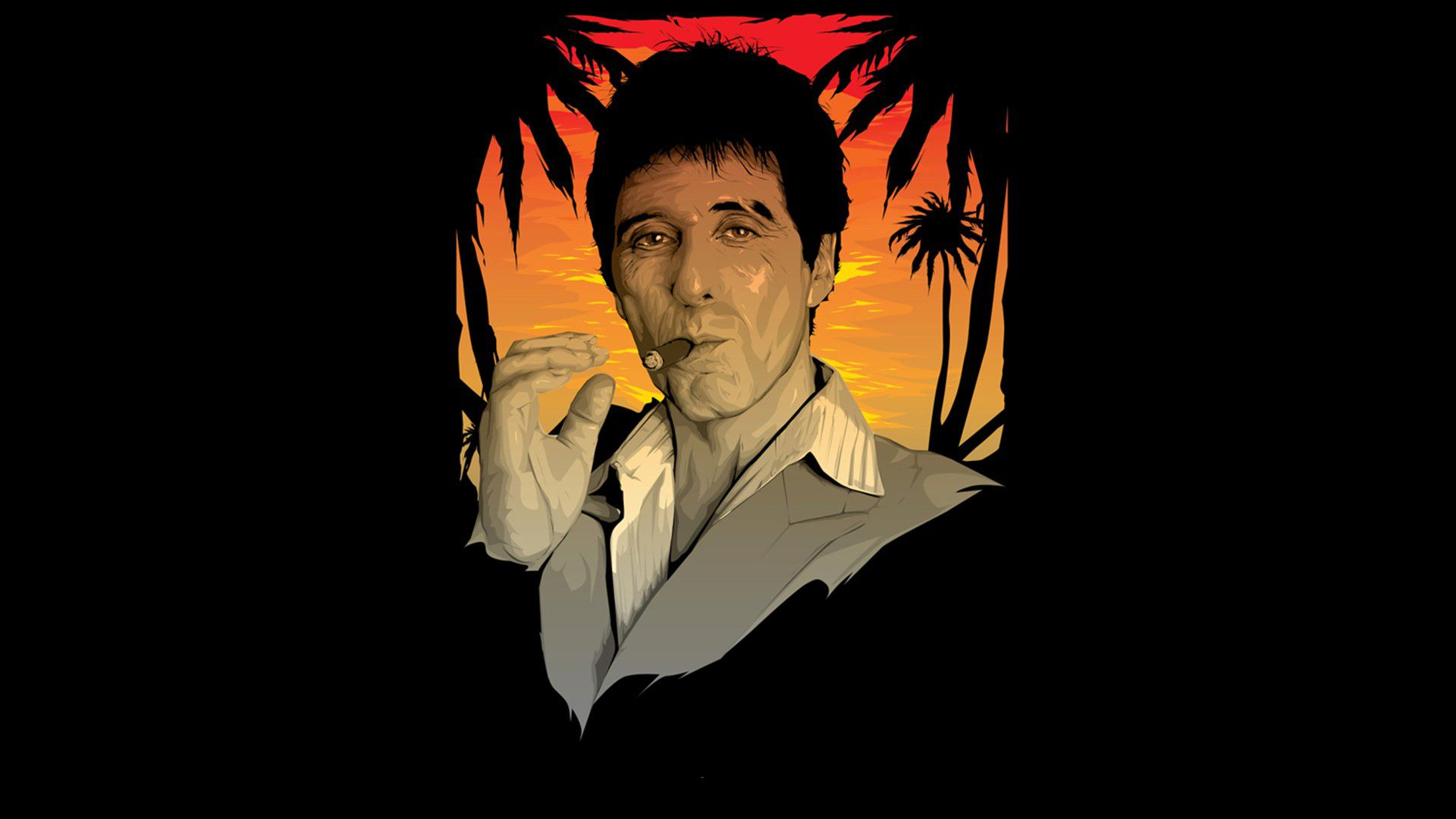 Scarface Full Hd Wallpaper 1920x1080 Fondos De Escritorio Frases De Scarface Al Pacino