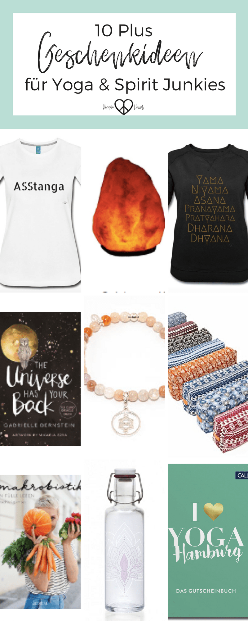 10 plus Geschenkideen für Yoga und Spirit Junkies + Verlosung | Yoga