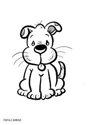 Animali Da Colorare Stampa Le Schede Portale Bambini Disegnare Animali Disegni Di Cane Disegni Da Colorare