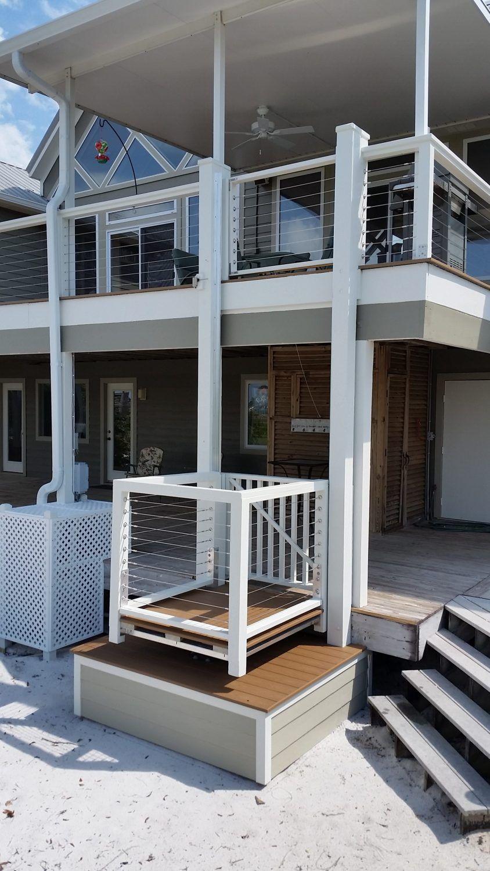 Outdoor Beach Lifts House lift, Beach house plans, House