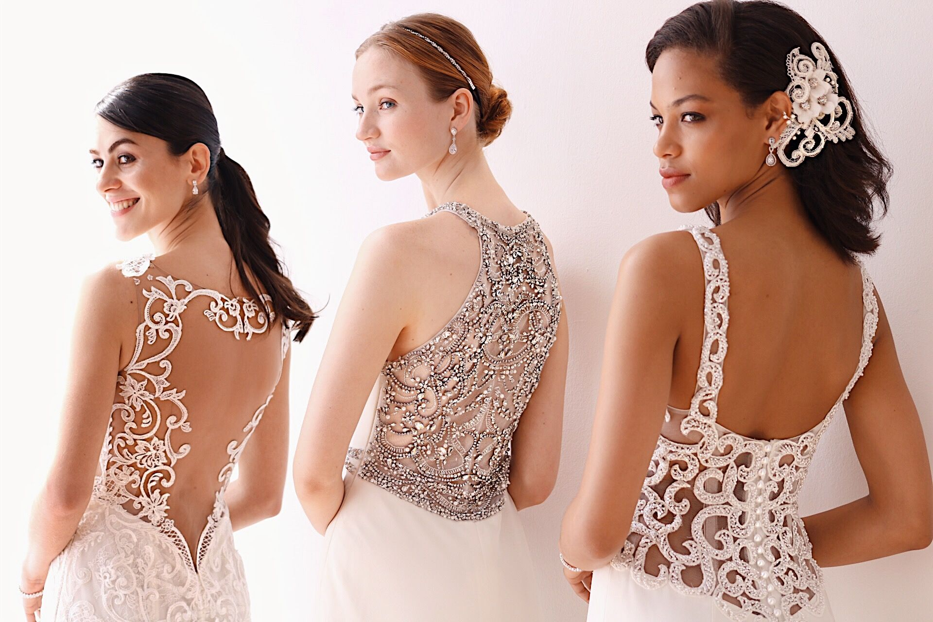 Davids bridal fall preview these detailed backs are so dreamy