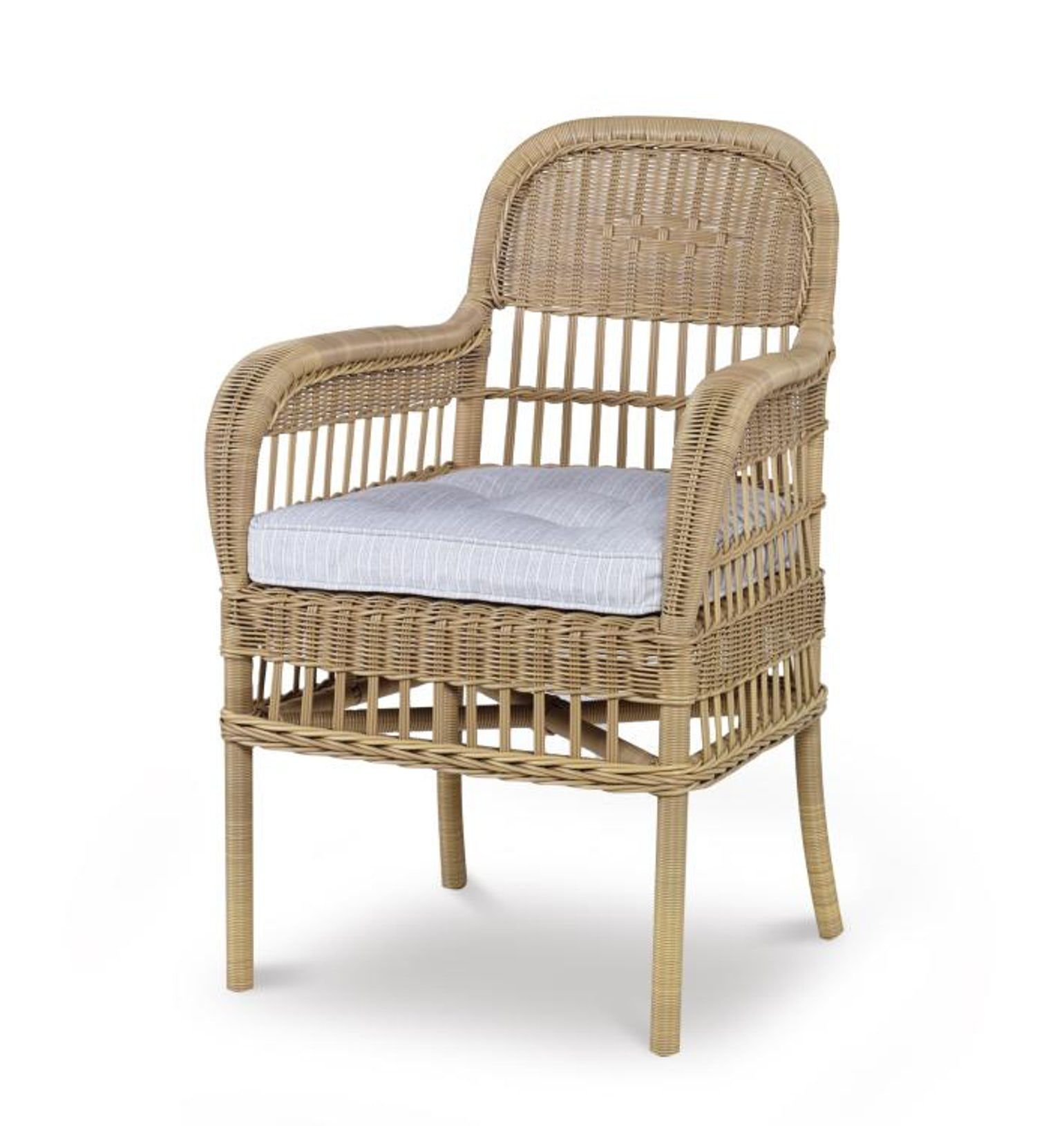 Mainland Wicker Dining Arm Chair Armchairs Club Chair By Century