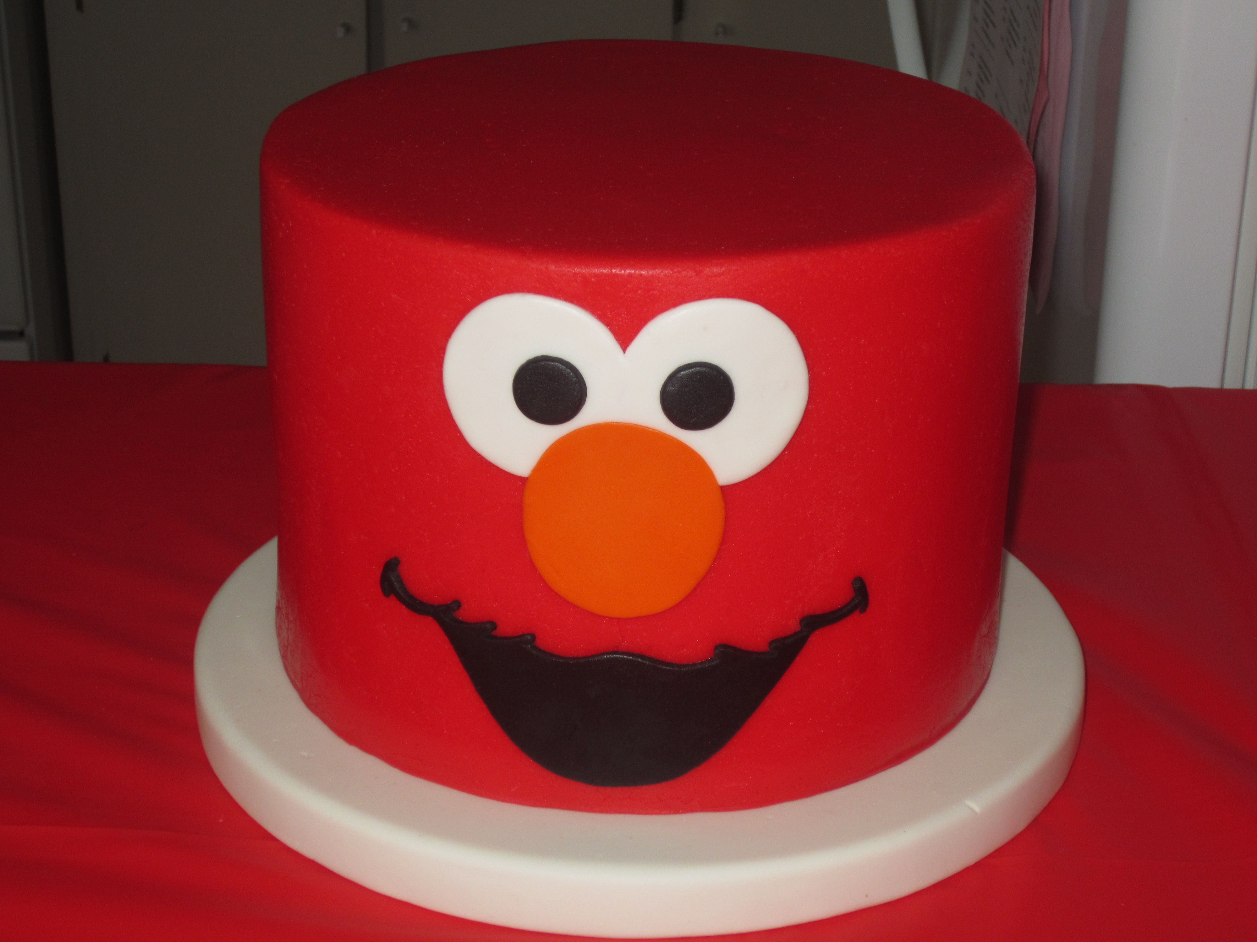 Elmo Cake - This cake was for my daughter's 2nd birthday.