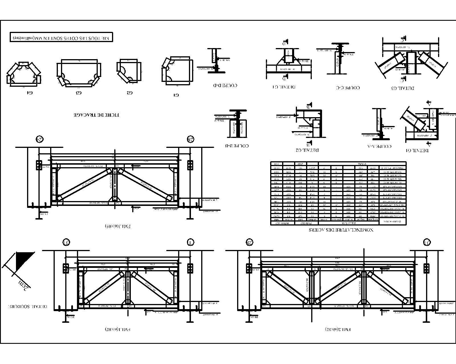 plan charpente metallique archi01 pinterest charpente m tallique charpente et metallique. Black Bedroom Furniture Sets. Home Design Ideas