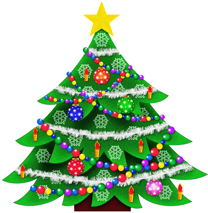 Transparent Christmas Tree Clipart Picture Gallery