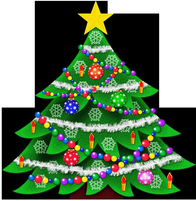 CHRISTMAS TREE CLIP ART | CLIP ART - CHRISTMAS 1 - CLIPART ...
