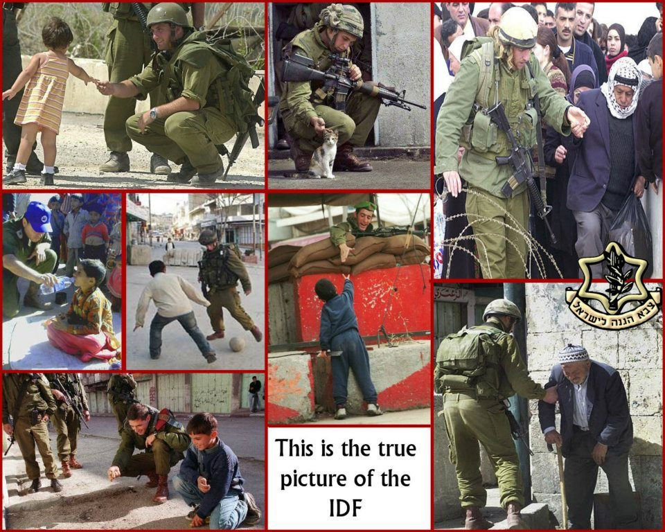 The pictures of everyday life of an #IDF solder that mainstream media doesn't show