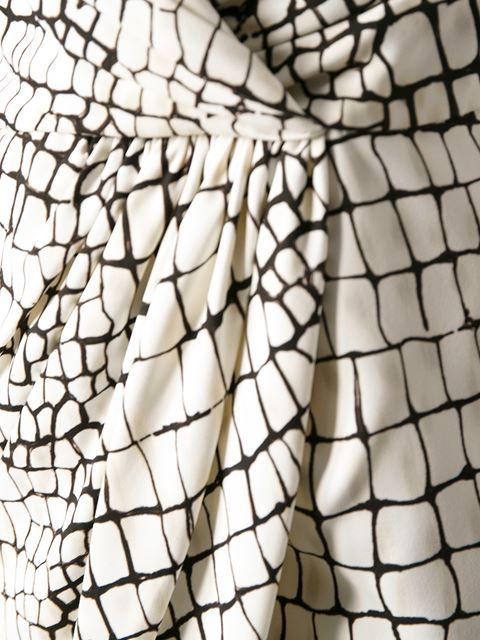 Shop Giambattista Valli crocodile print dress in Paola from the world's best independent boutiques at farfetch.com. Over 1000 designers from 60 boutiques in one website.
