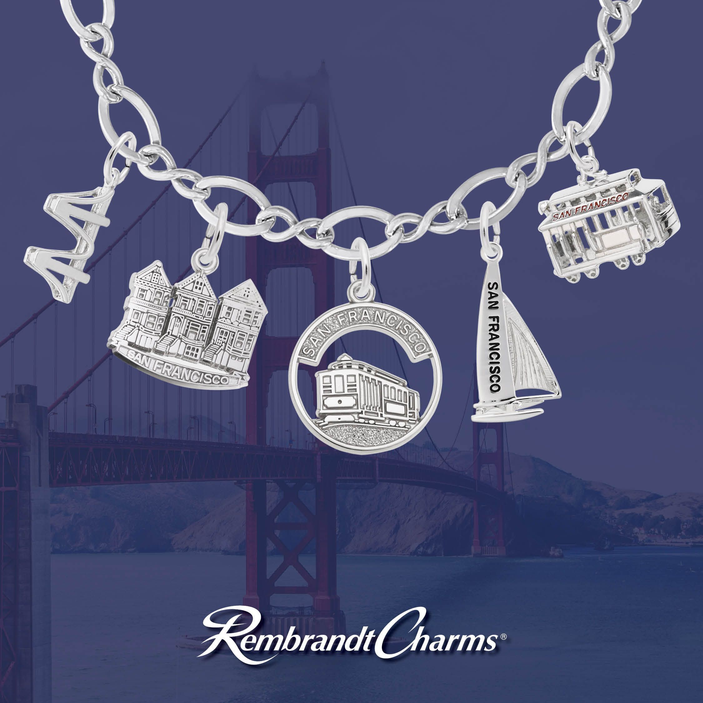 Rembrandt Charms Hawaii Engravable