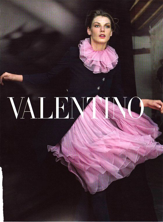 "voguinett: "" Angela Lindvall Valentino AW 2008-2009 ad campaign♥ """