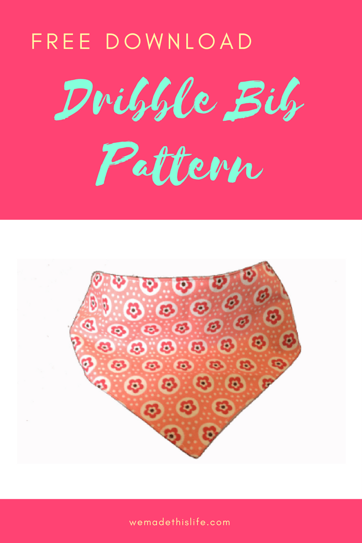 free printable dribble bib pattern | Patterns | Pinterest | Bib ...