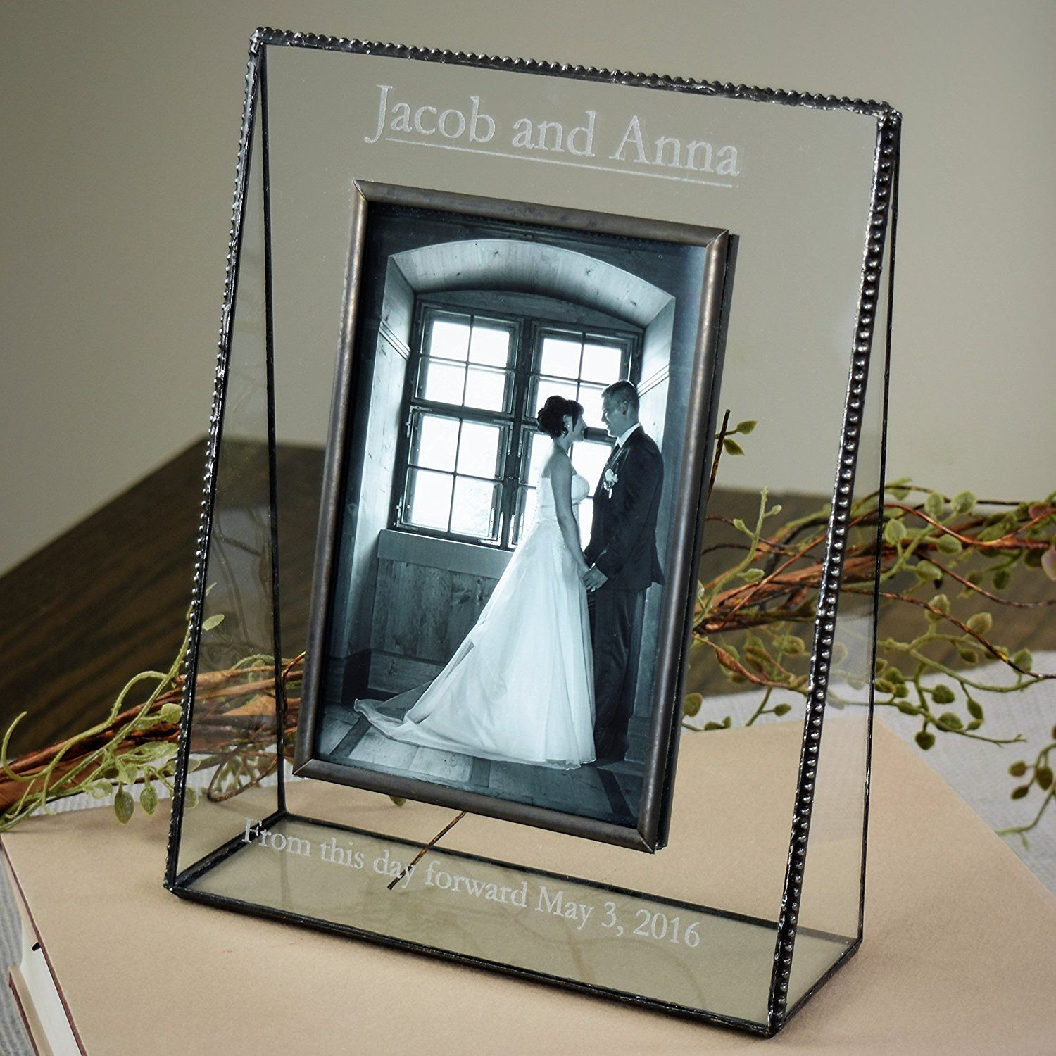 J devlin pic 319 57v ep548 clear glass 5x7 picture frame vertical j devlin pic 319 57v ep548 clear glass 5x7 picture frame vertical portrait personalized wedding jeuxipadfo Image collections