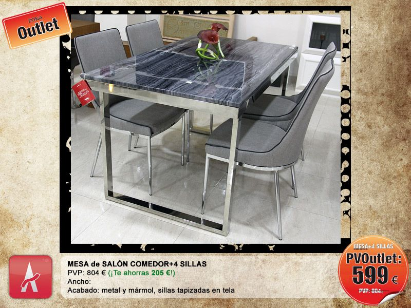 Outlet de mobiliario | Outlet de mobiliario | Furniture, Table y ...