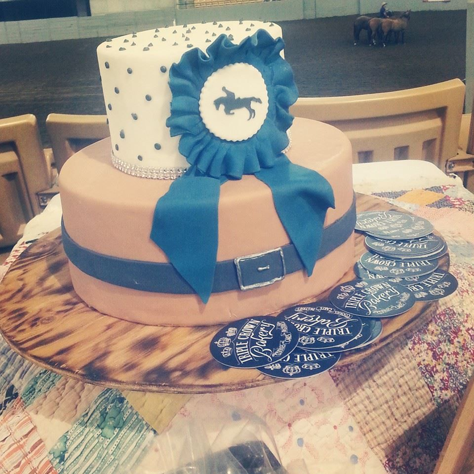 Triple Crown Bakery Franklin TN Equestrian Riding Cake Hunter Jumper Horse Show Alenavaughngmail