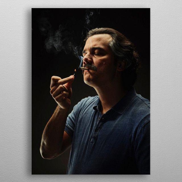 Pablo Escobar Retro Poster Print