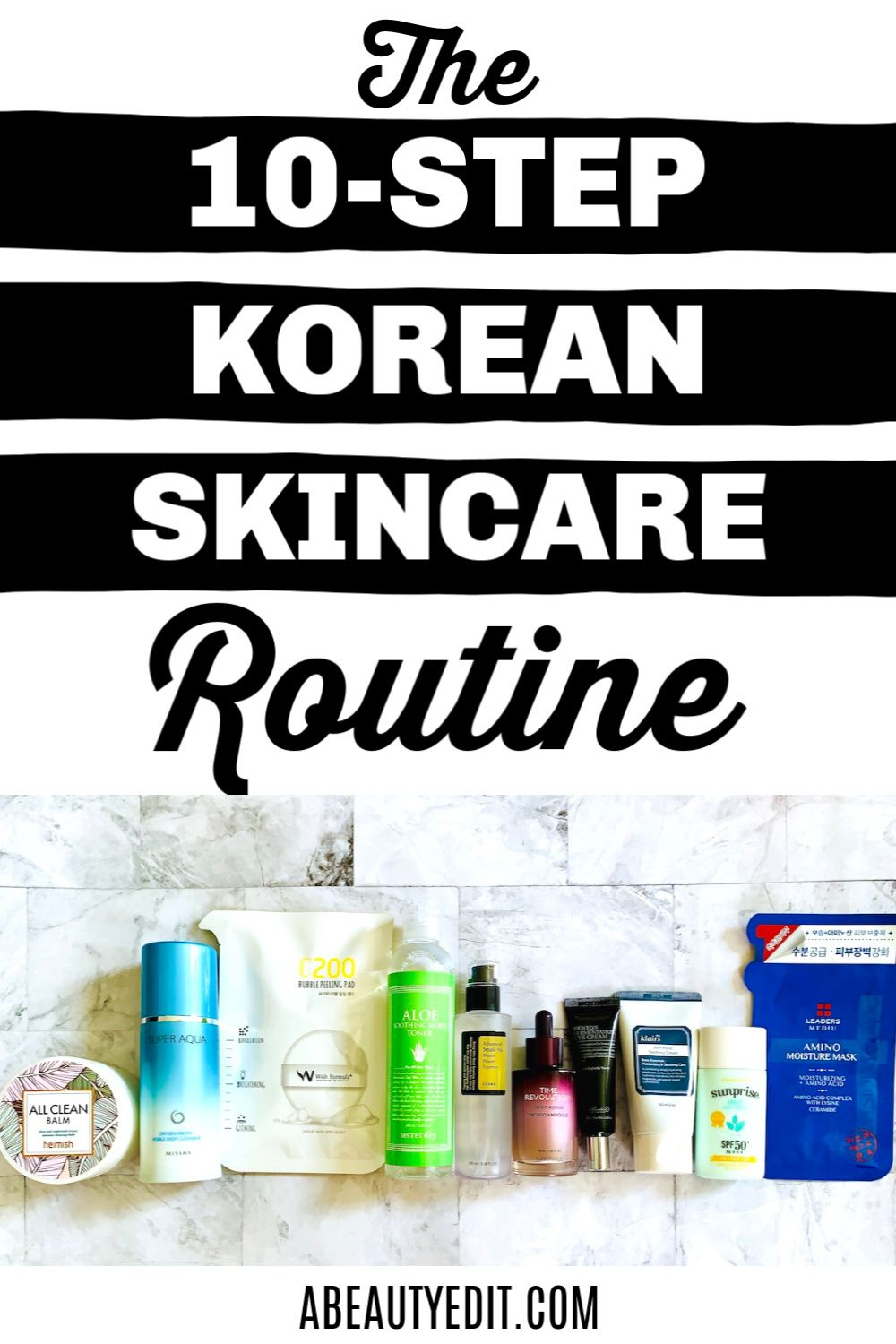 How To Do The 10 Step Korean Skincare Routine In 2020 Korean Skincare Routine Korean 10 Step Skin Care Skin Care Routine