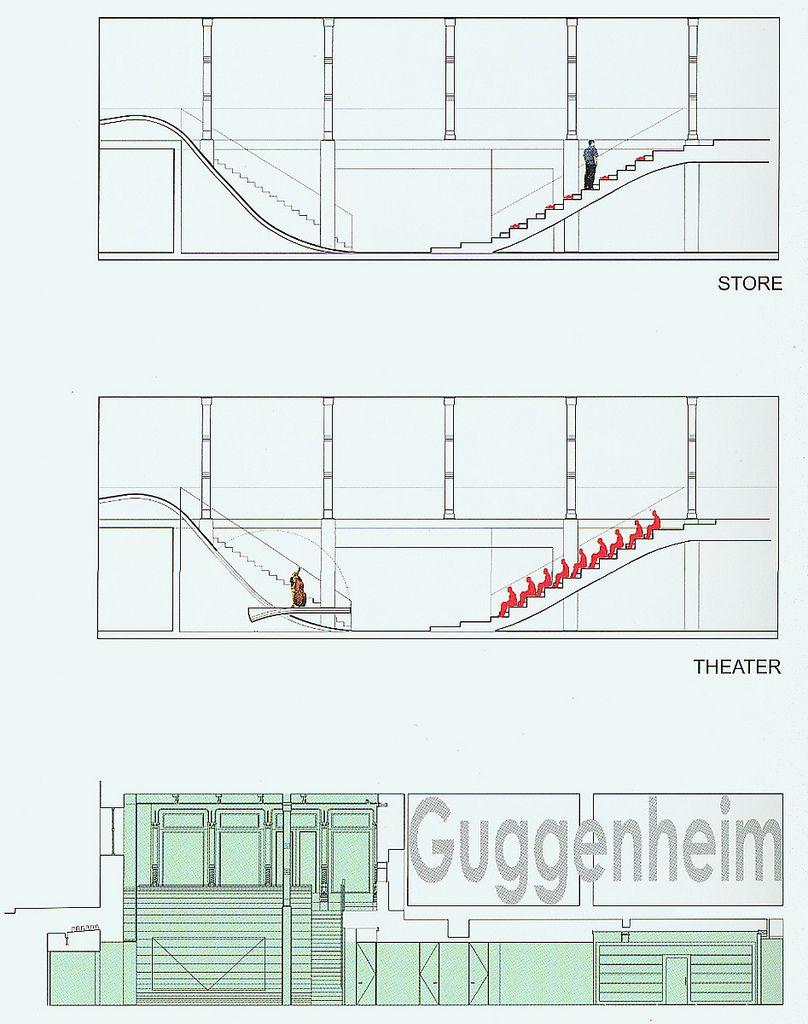 332a9599979 Rem Koolhaas - NYC SOHO PRADA Drawings 01 - SECTION.jpg
