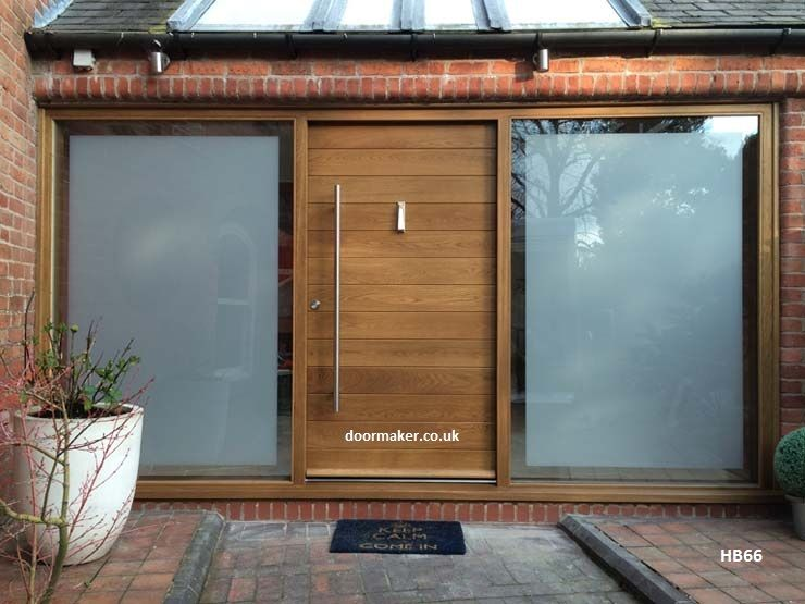 Contemporary Front Doors oak iroko and other woods Bespoke Doors & Contemporary Front Doors oak iroko and other woods Bespoke Doors ...