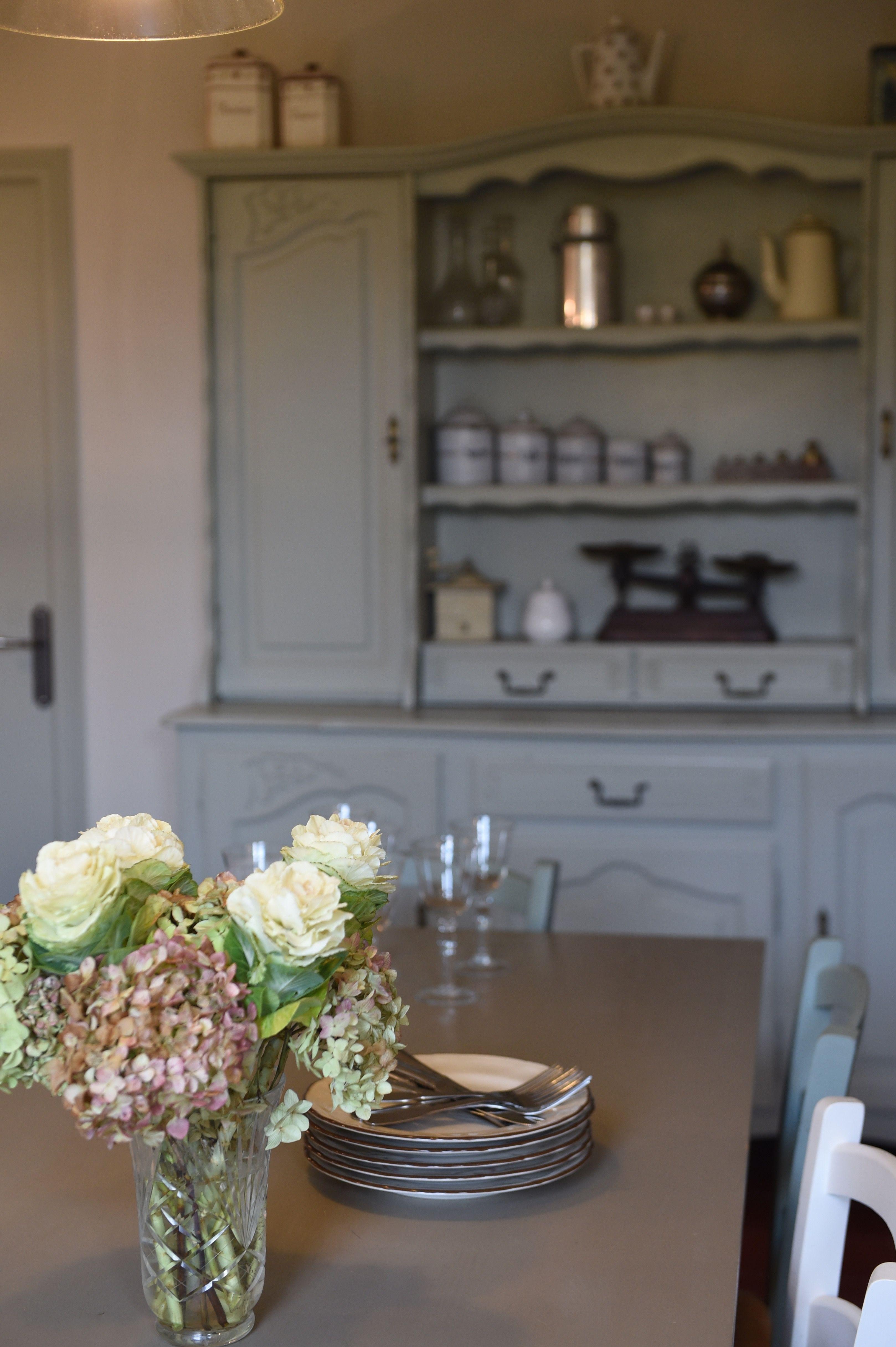 cuisine de charme dans une maison de famille normande | Maison normande, Maison de famille ...