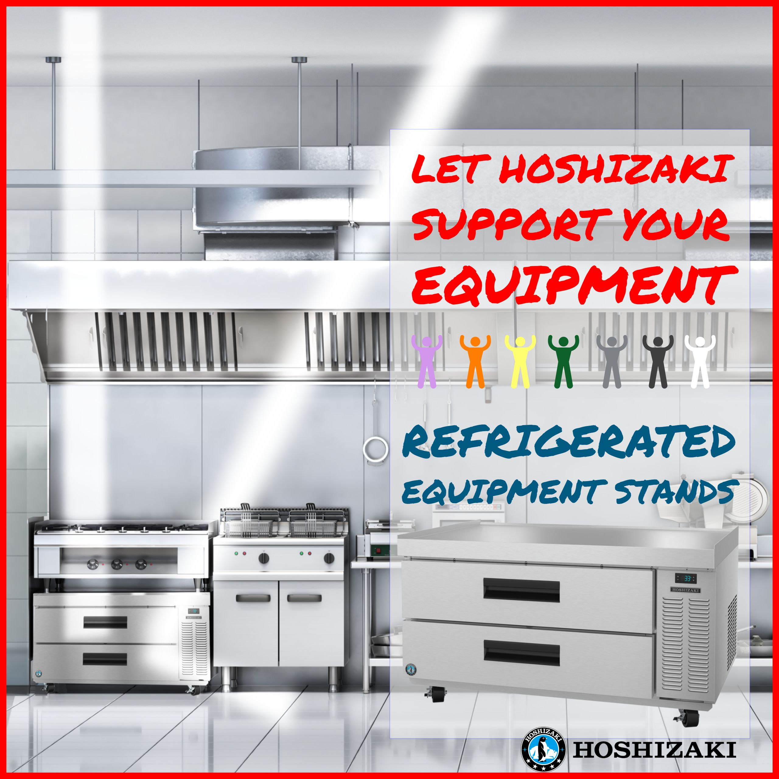 HOSHIZAKI Refrigerated Equipment Stands are Built Beyond Strong ...