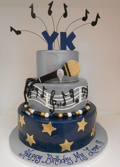 Terrific Music Theme Birthday Cake 1962 With Images Music Cakes Personalised Birthday Cards Akebfashionlily Jamesorg