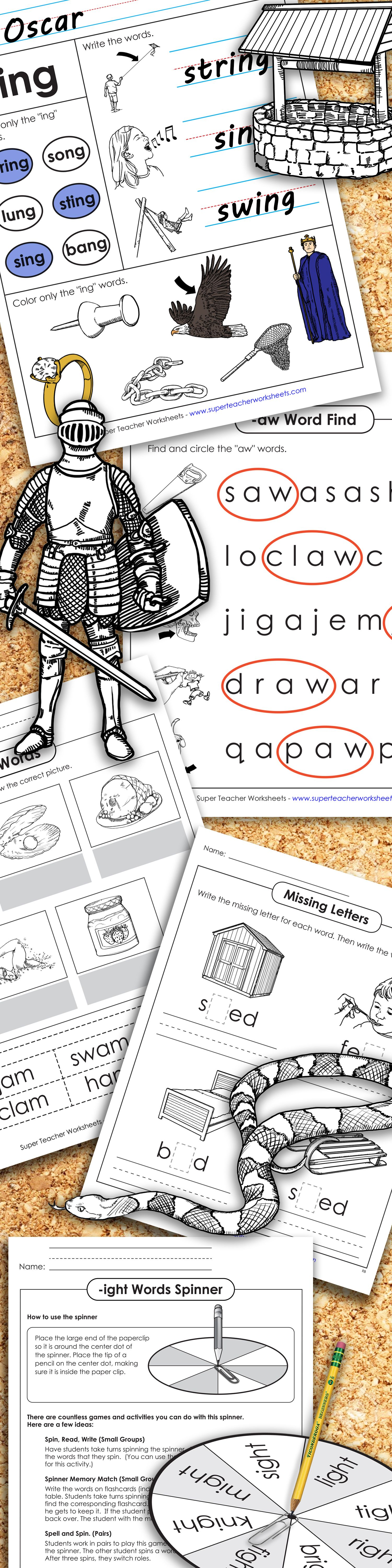 Have You Tried Out The New Wordfamily Resources From