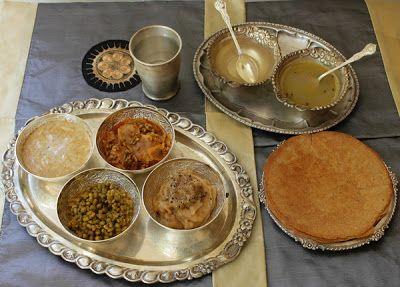 Jain parna thali jain kitchen pinterest jain recipes food and jain parna thali forumfinder Image collections