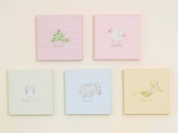 Sweet Pea Wall Art Collection I Could Totally Paint These Nursery Canvas