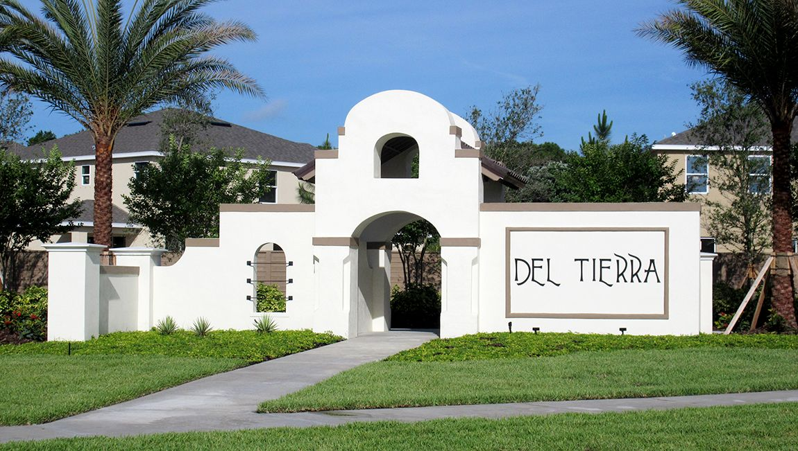 A First For The Express Homes Tampa Sarasota Division Del Tierra Offers Both Express And D R Horton Homes Riverview Florida Horton Homes New Home Communities