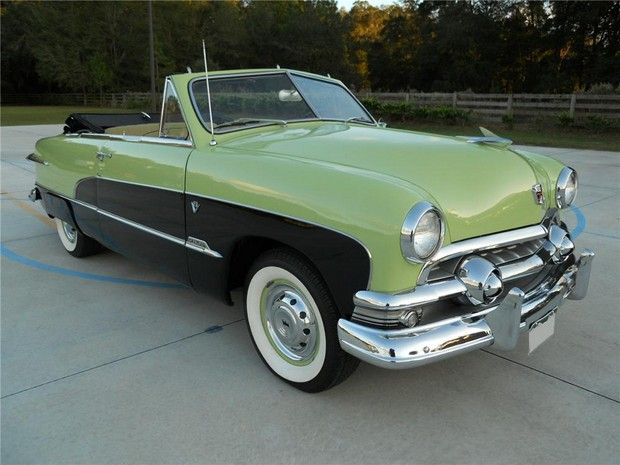 1951 ford custom convertible garage pinterest for Garage ford denney 90