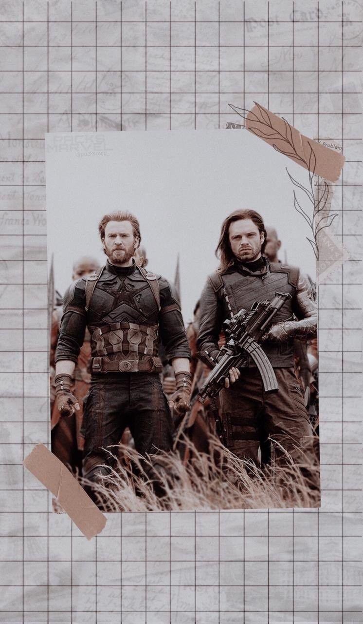 Steve Bucky Captain America And Bucky Bucky Barnes Captain America Captain America Wallpaper
