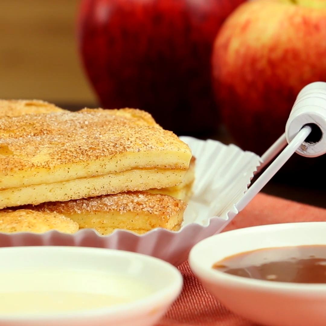 Apfelkuchen-Stäbchen