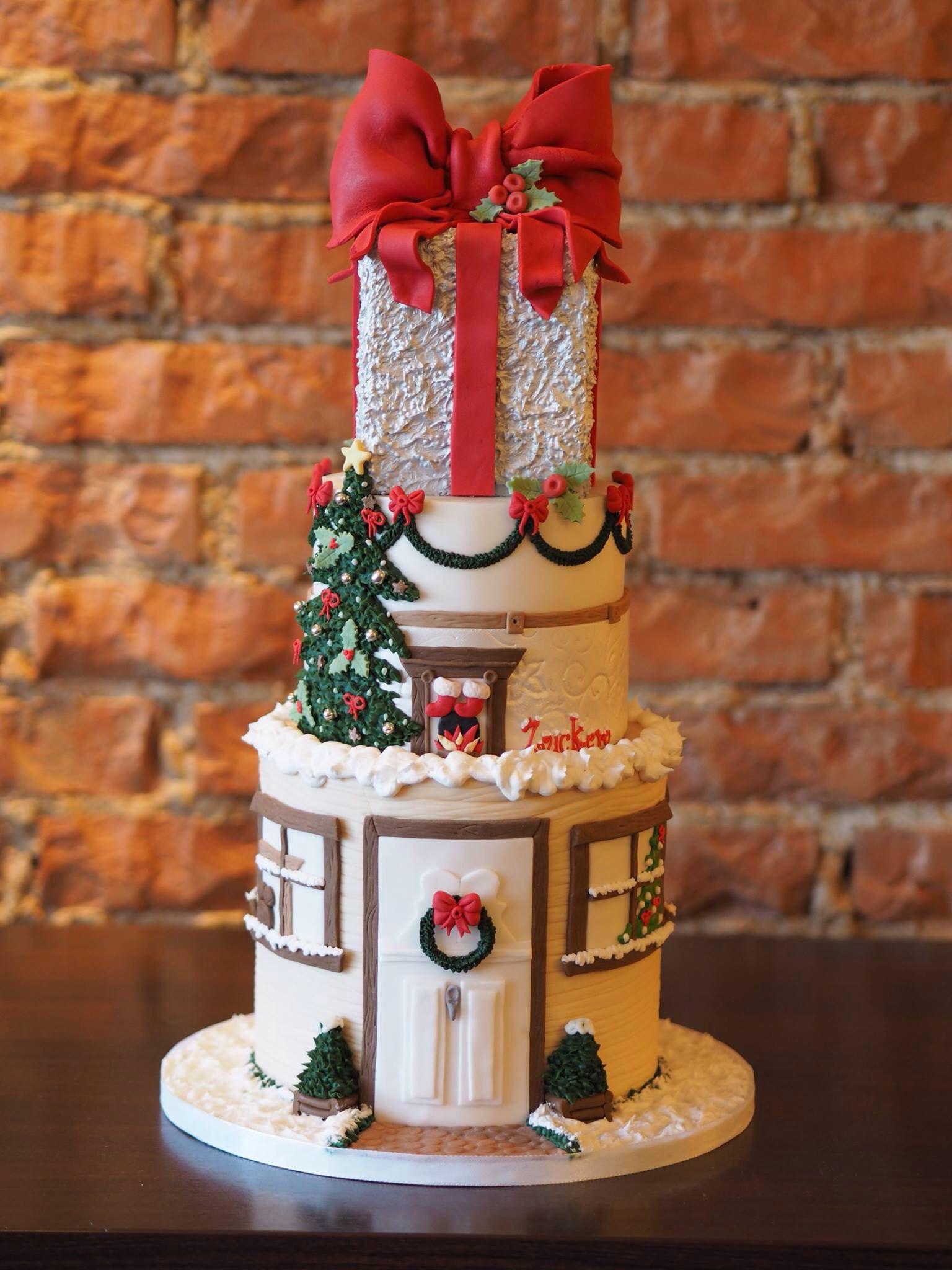 Weihnachtstorte Incredible Cakes Pinterest Torten Motivtorten