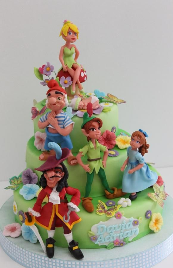 Peter Pan - Cake by Viorica Dinu