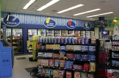 Convenience Store And Gas