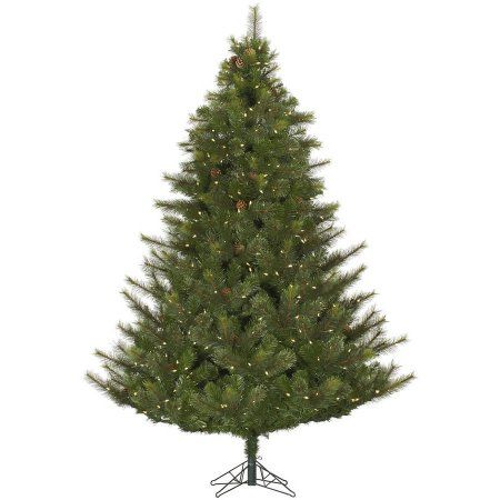 Vickerman Pre-Lit 12\u0027 Modesto Mixed Pine Artificial Christmas Tree