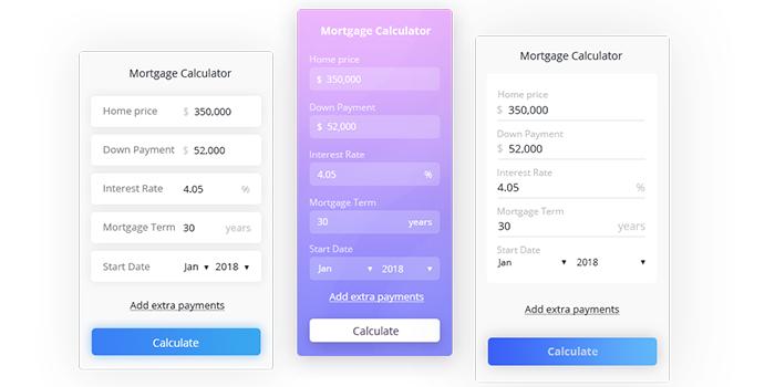 Free Mortgage Calculator Widget For Websites Free Mortgage Calculator Mortgage Amortization Calculator Mortgage Loan Calculator