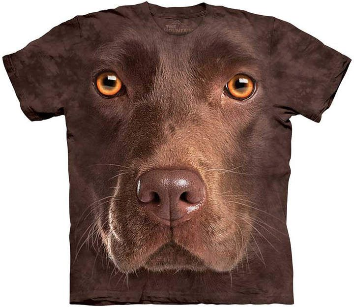 The Mountain Tee Shirts BROWN Brown Chocolate Lab