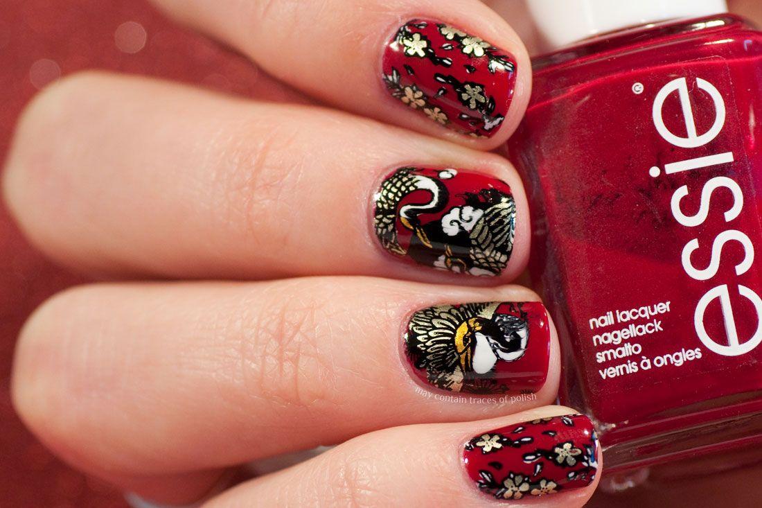 Chinese New Year's Nail Art New years nail art, New year