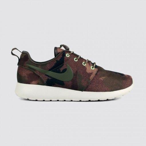 cheap for discount 17298 70129 Nike - Women s Roshe Run (Linen-Cargo Khaki-Mercury Grey-Mortar)