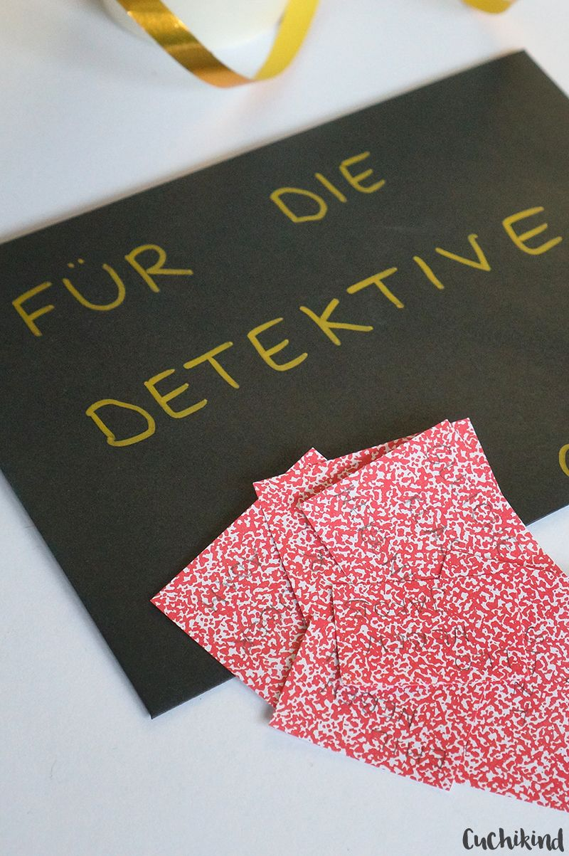Photo of Spiele für die Detektivpartei (mit Schatzsuche) – Cuchikind