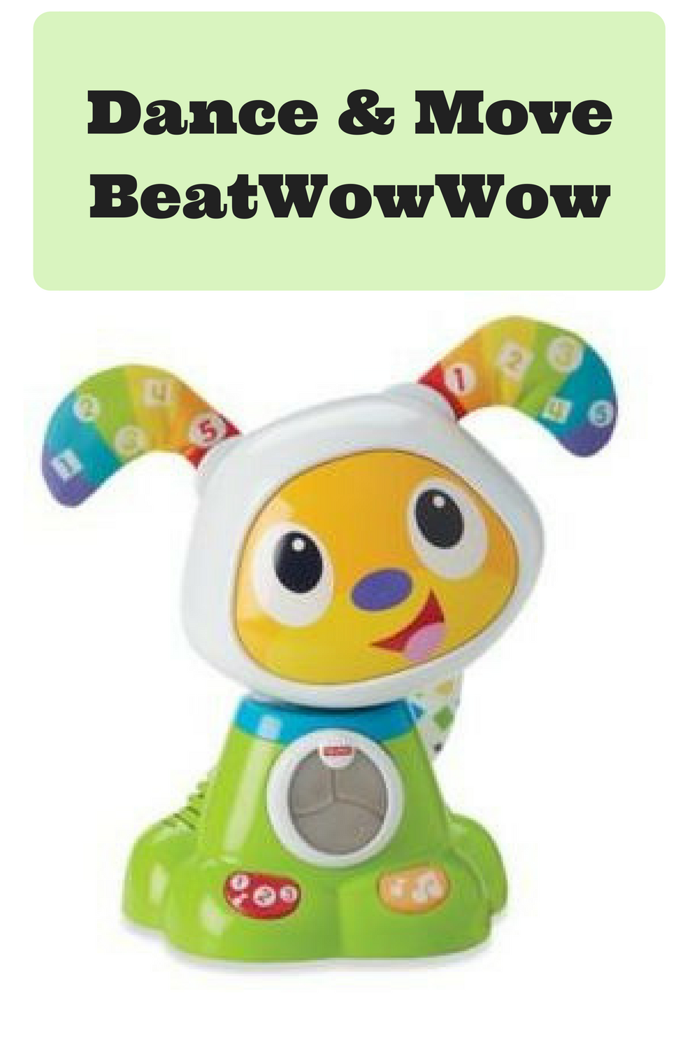 Fisher Price Dance And Move Beatwowwow Groovin Dog Toy Ad Oh Baby