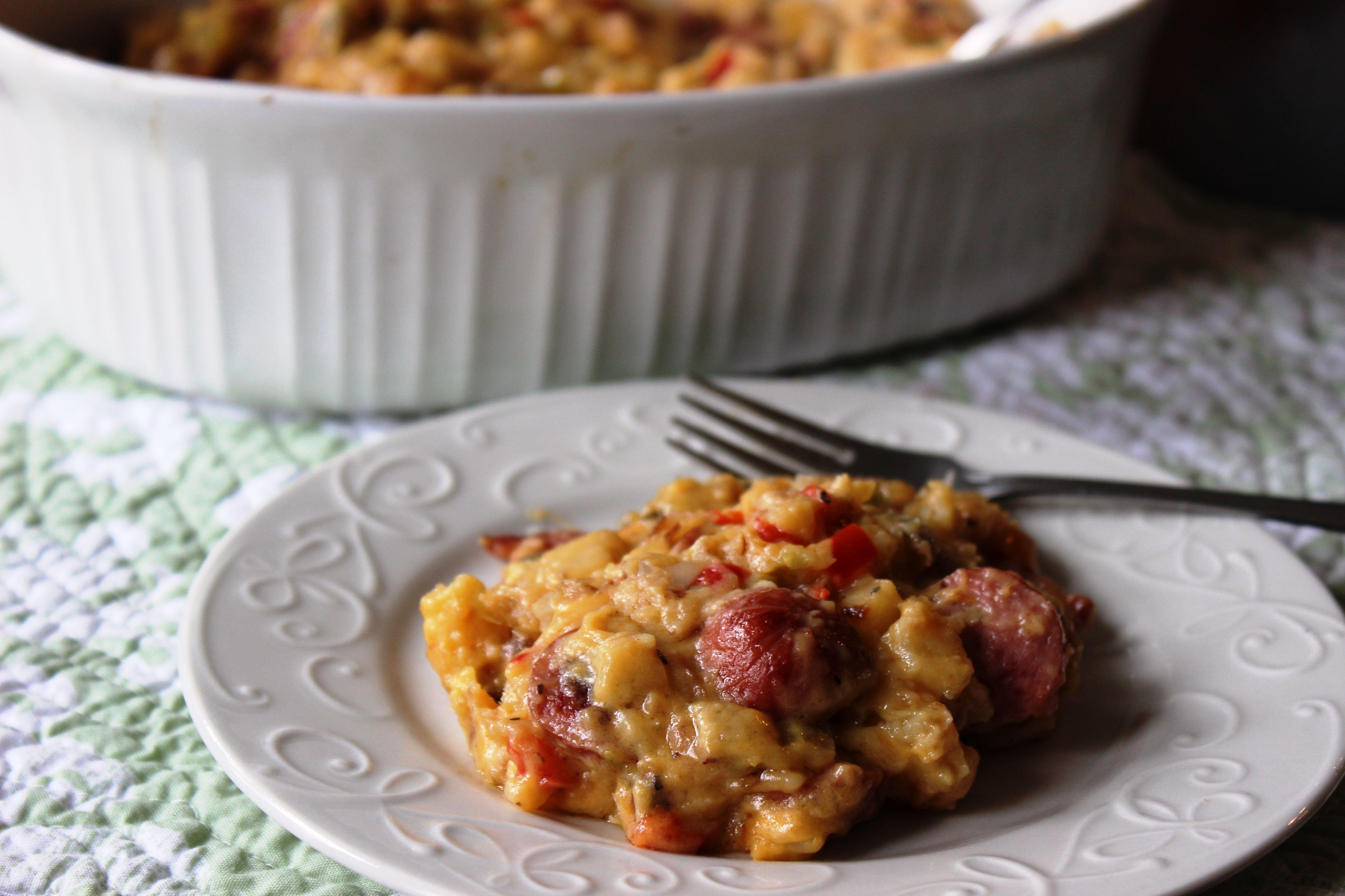 Smoked Sausage & Potato Skillet Dinner