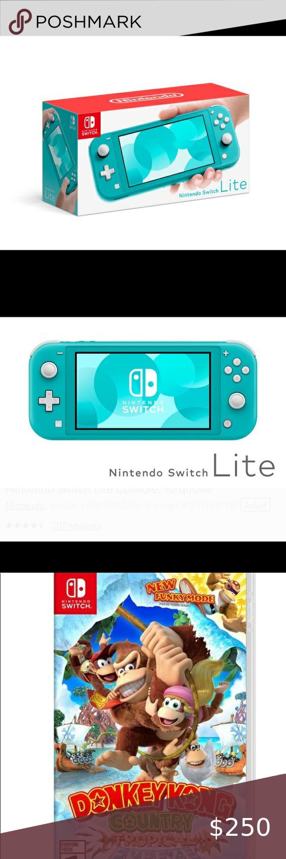 New Nintendo Switch Lite And Donkey Kong Brand New Nintendo Switch Lite And Donkey Kong Game Included Nintendo O Donkey Kong Donkey Kong Games Nintendo Switch