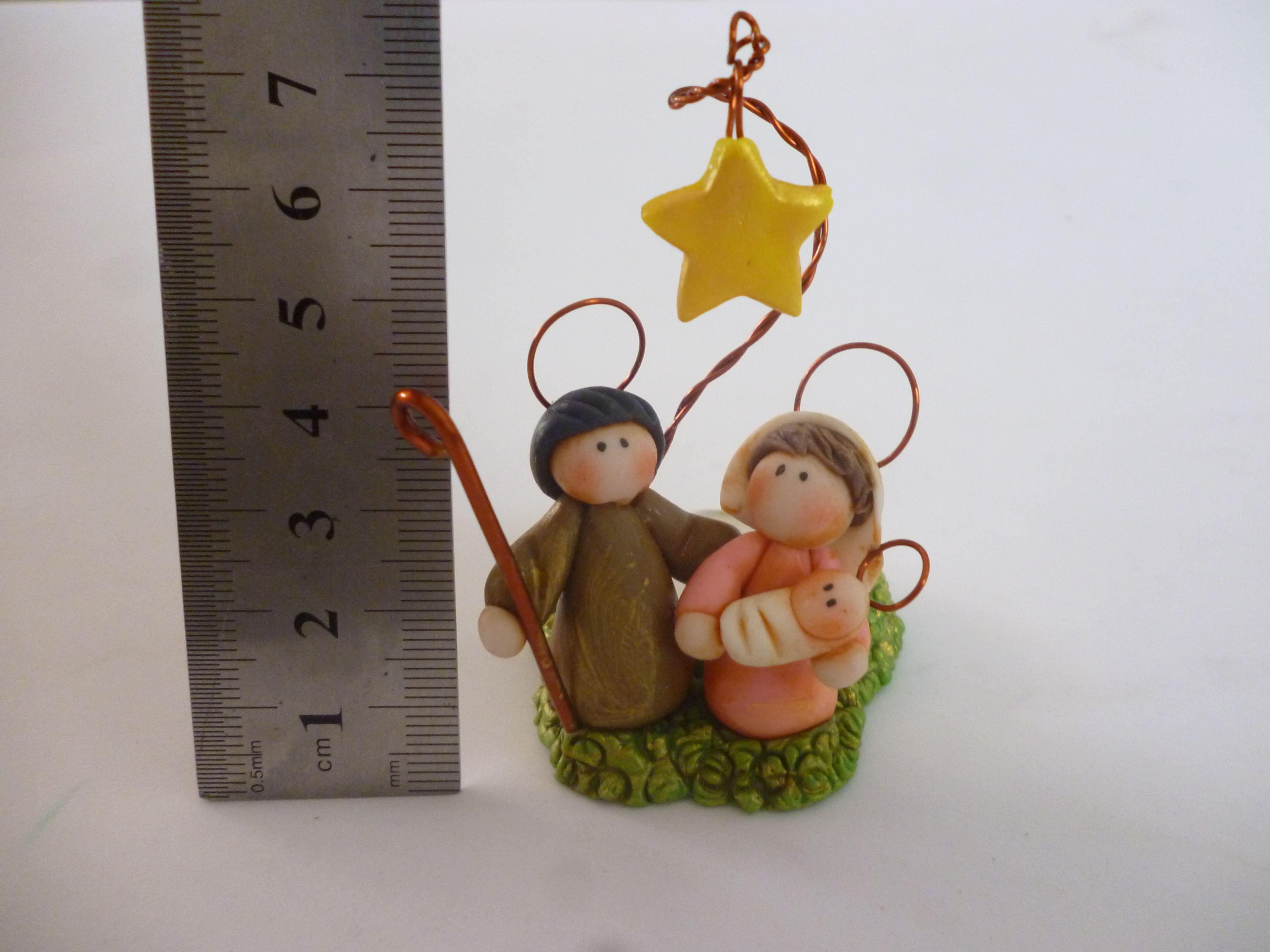 Pesebre mini envejecido en porcelana fria porta velita for Adornos navidenos en porcelana fria utilisima