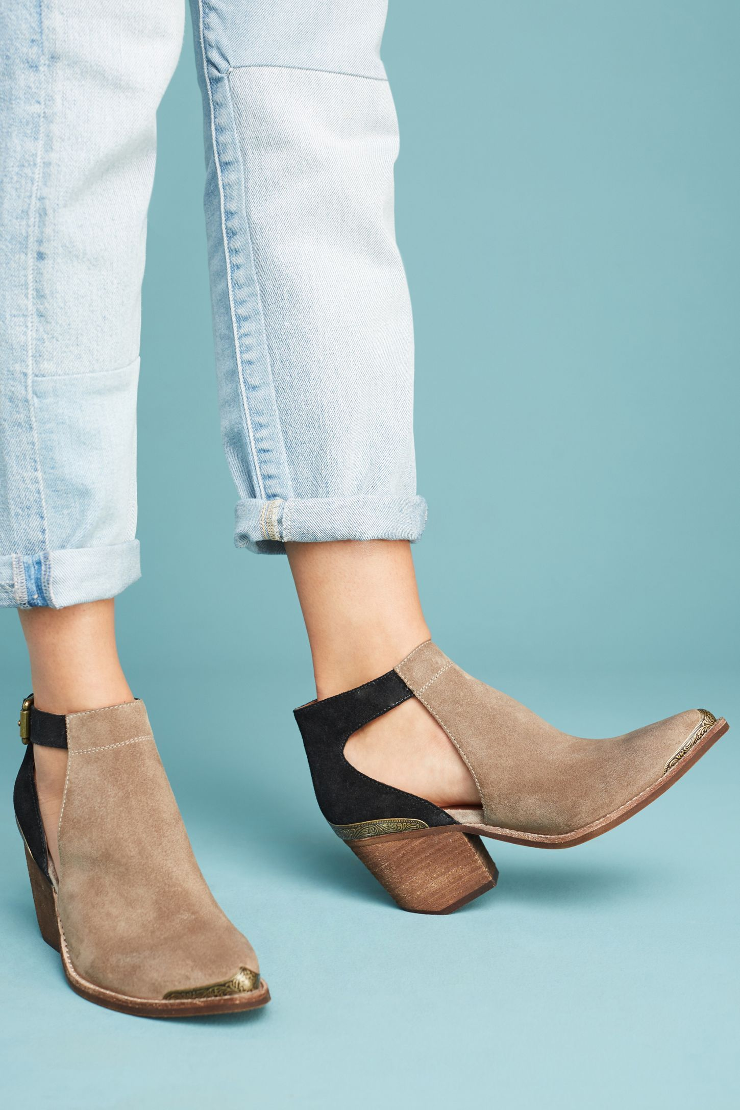 2cbfc50ad9ad3 Slide View  3  Jeffrey Campbell Woodruff Cutout Ankle Booties
