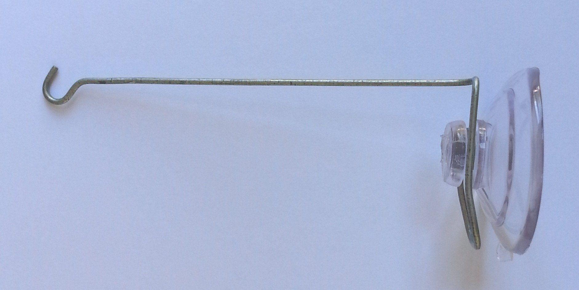 4 Inch Metal Window Hanger W Suction Cup Cinespinner Suncatcher  # Muebles Peekskill