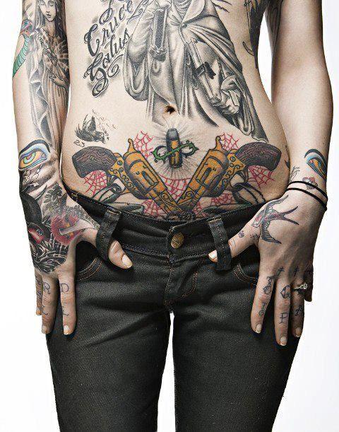 Gangster Stomach Tattoos : gangster, stomach, tattoos, Gangster, Tattoos, Tattoo, Design,, Tattoo,, Stomach