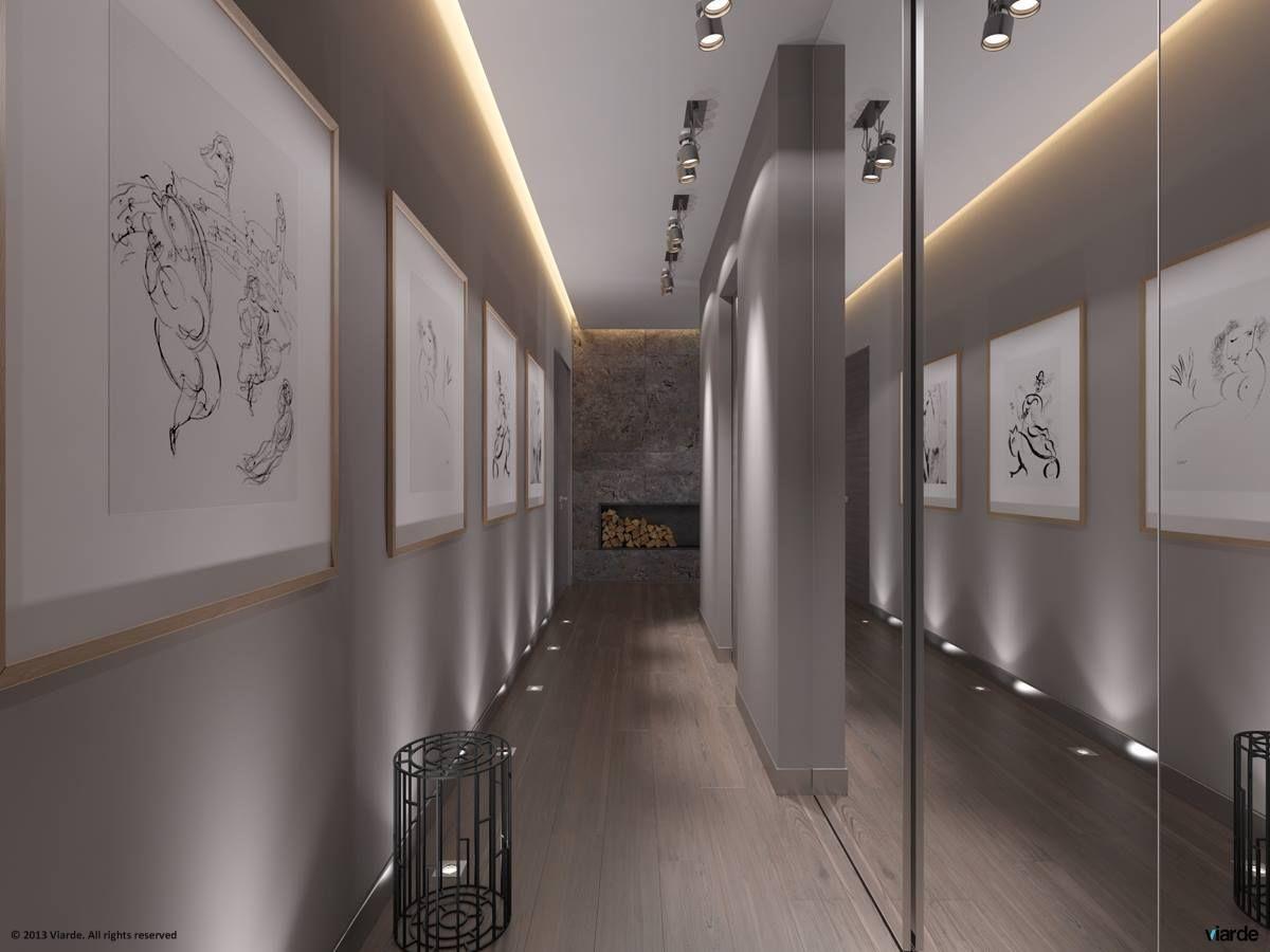 Decoratie Interieur Corridor : Shades of grey design edition corridor hall mirrors and foyers